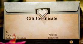Image of a Deva Gift Certificate